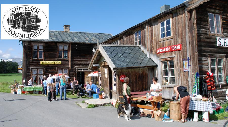 Vognhildsbua - a historic traditional store